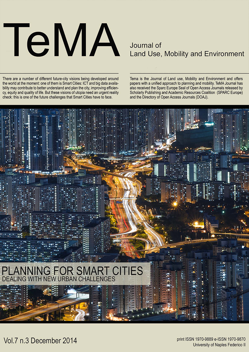 28_Vol 7 N° 3 (2014) Smart City Challenges Planning for smart cities. Dealing with new urban challenges
